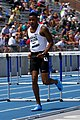 2018 USATF Outdoor National Championships SPC Marcus Maxey, 110m Hurdles (42089003455).jpg