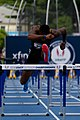 2018 USATF Outdoor National Championships SPC Marcus Maxey- first round of the men's 110m hurdles (29103602768).jpg
