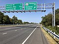 2019-10-01 12 17 50 View north along Maryland State Route 5 (Branch Avenue) at the exit for Maryland State Route 223-Woodyard Road (Melwood, Clinton) in Clinton, Prince George's County, Maryland.jpg