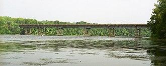 Connecticut Route 190 - Enfield-Suffield Veterans Bridge
