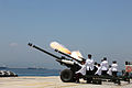 21 Gun Salute in Gibraltar marking the birth of Prince George of Cambridge 02.jpg