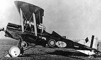 25th Space Range Squadron - Royal Aircraft Factory S.E.5, 25th Aero Squadron, Gengault Aerodrome (Toul), France, November 1918