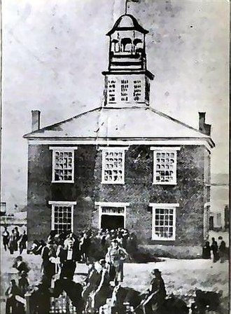 Battle of Kirksville - Image: 2nd Adair Co Courthouse