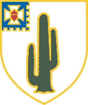 187th Infantry Brigade (United States) - Image: 35th Infantry Regiment DUI
