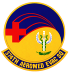 374 Aeromedical Evacuation Sq emblem (1994).png