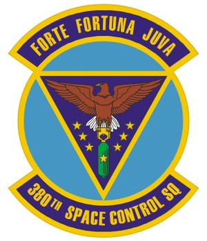 380th Space Control Squadron - 380th Space Control Squadron Heraldry