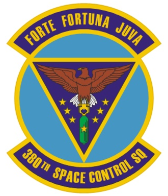 380th Space Control Squadron - 380th Space Control Squadron Heraldry