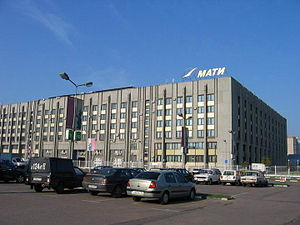 Moscow State Aviation Technological University - Main building in Moscow