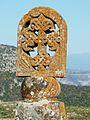 490 Monastère de Tatév Sommet de la colonne d'alerte sismique.JPG