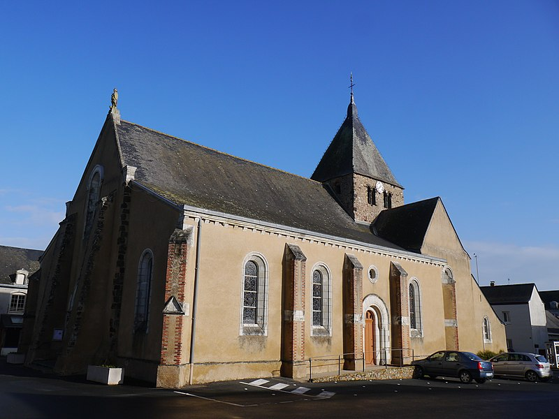 L'église Saint-Julien.