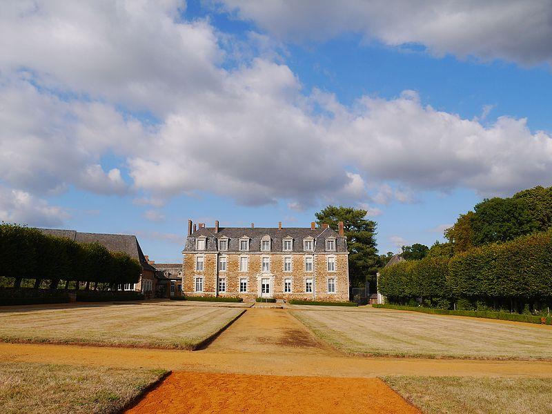 Le château et son parc en 2016.