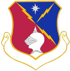 65th Air Division - Image: 65th Air Division crest