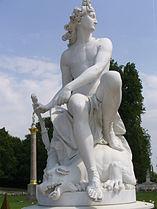 7003.Apollo mit dem getöteten Python(1752)-François Gaspard Adam-Große Fontäne-Sanssouci Steffen Heilfort.JPG