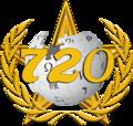 720 articles Gold Barnstar Hires.png