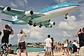 747-400 City of Bangkok landing at Princess Juliana 11-27-2012b.jpg