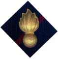 7 Medium Artillery beret badge black watch forum.png
