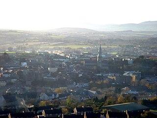 Enniscorthy Town in Leinster, Ireland