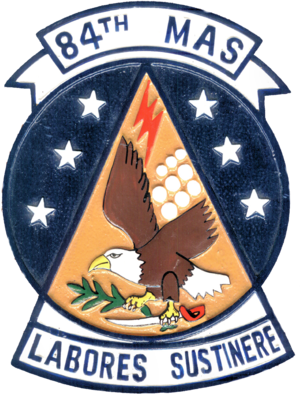 84th Military Airlift Squadron - Image: 84th Military Airlift Squadron Emblem