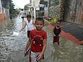 9704Effects (floods) of Typhoon Vamco Calumpit, Bulacan 60.jpg
