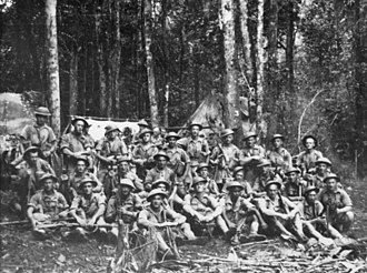 2/14th Battalion (Australia) - Image: 9 platoon 2 14Bn 16Aug 42