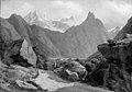 A.W. Boesen - Parti af Romsdalen med Romsdals Horn og Vikingetinderne i Norge - KMS451 - Statens Museum for Kunst.jpg