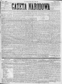 A. Giller, A. de Gubernatis, K. Brzozowski - Ze Świata - Gazeta Narodowa, Lwów, nr 102, 5 V 1875, str. 1 - A. Giller.png