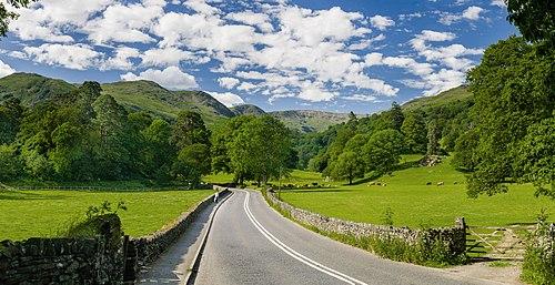 A591 road, Lake District - June 2009 Edit 1.jpg