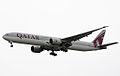 A7-BAJ B777-3DZER Qatar Airways (8267031700).jpg