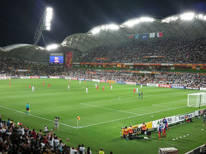 2015 AFC Asian Cup - Melbourne Rectangular Stadium during the Iran vs Bahrain match