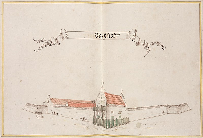 File:AMH-6394-NA View of the fort at Onrust.jpg
