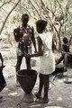 ASC Leiden - Coutinho Collection - C 25 - Life in Sara, Guinea-Bissau - Women preparing food - 1974.tiff