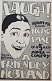 A Friendly Husband (1923) poster.jpg