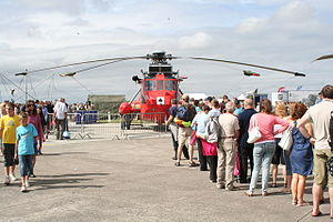 A Sea King SAR helicopter at RNAS Culdrose Air Day 2010 - geograph.org.uk 1992039.jpg