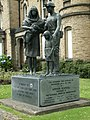 A Statue of a Miner and his Family - geograph.org.uk - 1385589.jpg