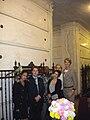 A Tribute Westward cast 2011 at Mae West grave.jpg