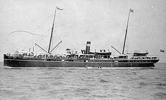 Mawlamyine - A steamer owned by British-India Steam Navigation Company in 1887