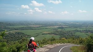 Gunung Kidul Regency - A view taken from a hill in Gunungkidul Regency, Yogyakarta