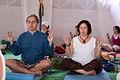 A yogi and yogini at festival de kundalini yoga.jpg