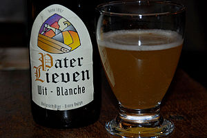 English: Pater Lieven Wit, Belgian Abbey beer