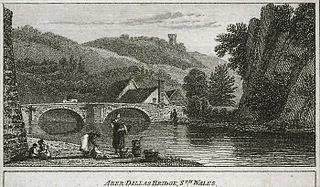 Aber Dillas bridge, sth. Wales