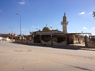 Marj - Abi Zar al Ghifari mosque in Marj.
