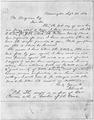 Abraham Lincoln Letter to Mr. Brayman September 23, 1854 - NARA - 192847.tif