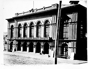 Academy of Music (Philadelphia) - The Academy of Music in 1870