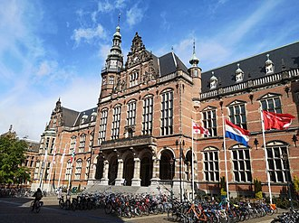Academy Building of the University of Groningen in 2019 Academy Building of RUG on May 27, 2019.jpg