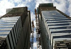 Acico Twin Towers Under Construction on 28 December 2007 Pict 3.jpg