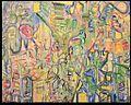 """Adolf Bierbrauer """"Der Roman vom verlorenen Sohn"""" Mischtechnik auf Leinwand, 160 cm x 180 cm, 1999.jpg"""