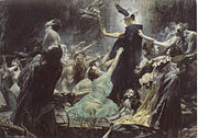 Adolf Hiremy-Hirschl, Die Seelen des Acheron