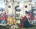 Adoration by the Shepherds by Francesco di Giorgio - San Domenico - Siena 2016.jpg