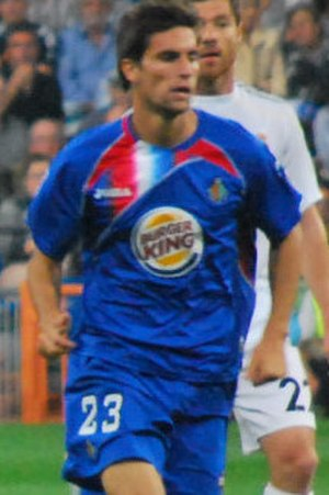 Adrián González Morales - Adrián in action for Getafe in 2009