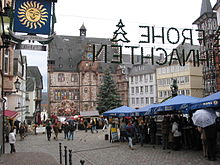 Weihnachtsmarkt marburg oberstadt